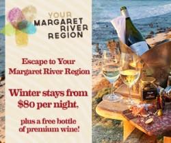 MargaretRiver.com's remarketing ad